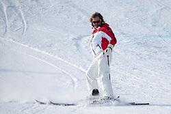 17.01.2017, Hahnenkamm, Kitzbühel, AUT, FIS Weltcup Ski Alpin, Kitzbuehel, Abfahrt, Herren, Streckenbesichtigung, im Bild Hansi Hinterseer // Singer Hansi Hinterseer during the course inspection for the men's downhill of FIS Ski Alpine World Cup at the Hahnenkamm in Kitzbühel, Austria on 2017/01/17. EXPA Pictures © 2017, PhotoCredit: EXPA/ Johann Groder