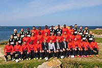 Equipe de Brest - 09.09.2015- Photo Officielle de Brest - Ligue 2<br /> Photo : Philippe Le Brech / Icon Sport