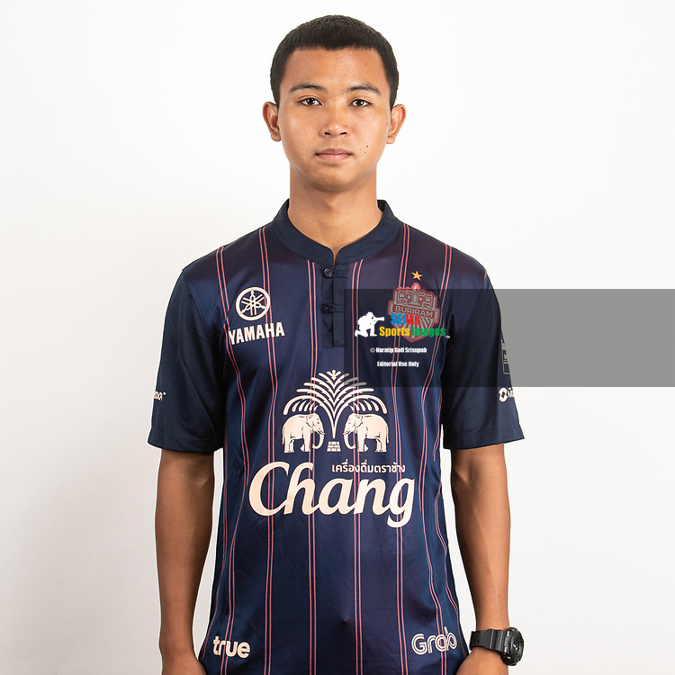 THAILAND - JUNE 26: Thirapak Prueangna #64 of Buriram United on June 26, 2019.<br /> .<br /> .<br /> .<br /> (Photo by: Naratip Golf Srisupab/SEALs Sports Images/MB Media Solutions)