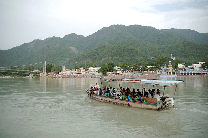 Trip to rishikesh &gt; gangotri &gt; gaumukh &gt; and beyond to tapovan in 2006.<br />
