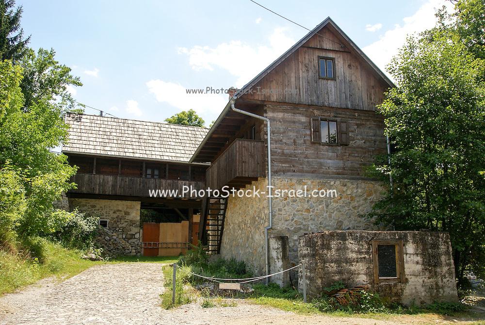 Slunj, Croatia a small town in the mountainous part of Central Croatia
