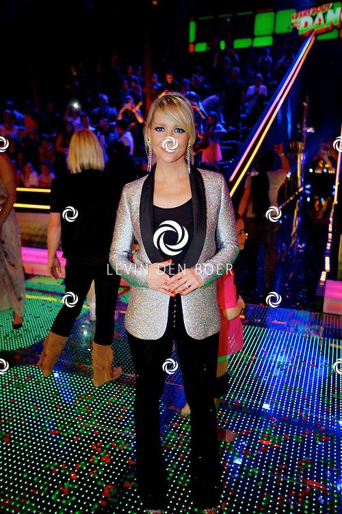 AALSMEER - In Studio Alsmeer is de liveshow van Everybody Dance Now. Met op de foto Chantal Janzen. FOTO LEVIN DEN BOER - PERSFOTO.NU