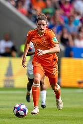 07-07-2019 FRA: Final USA - Netherlands, Lyon<br /> FIFA Women's World Cup France final match between United States of America and Netherlands at Parc Olympique Lyonnais. USA won 2-0 / Dominique Bloodworth #20 of the Netherlands
