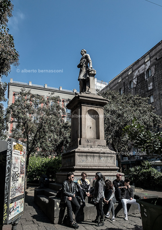 Naples, Piazza Bellini