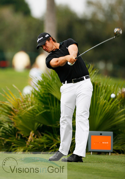 Aaron Baddeley<br /> WGC CA Championship, Doral, Blue monster GC, Florida USA. March 2007. <br /> Picture Credit:   Mark Newcombe / visionsingolf.com