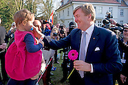 King Willem-Alexander and Queen Maxima in Sleeswijk- Holstein and Hamburg