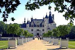 Chateau de Chenonceau, main entrance.