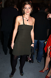 MISS FRANCESCA VERSACE  at a party to celebrate the opening of W'Sens - a new fine french restaurant at 12 Waterloo Place, London SW1 on 10th December 2004.<br /><br />NON EXCLUSIVE - WORLD RIGHTS