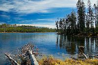 The quiet lake.