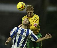 Photo: Aidan Ellis.<br /> Huddersfield Town v Swansea City. Coca Cola League 1. 30/12/2006.<br /> Swansea's Alan Tate beats Huddersfield's Gary Taylor Fletcher