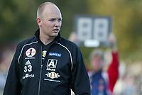 Fotball. 1. divisjon Sandefjord - Åsane 29. september. Kristian Andersen, trener Åsane.<br /> <br /> Foto: Andreas Fadum, Digitalsport
