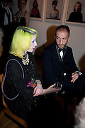 JULIE VERHOEVEN; IONNIS CHOLIDIS, Swarovski Whitechapel Gallery Art Plus Opera,  An evening of art and opera raising funds for the Whitechapel Education programme. Whitechapel Gallery. 77-82 Whitechapel High St. London E1 3BQ. 15 March 2012