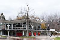 Murale Claude Vermette, Chalet du lac des castors<br /> <br /> Art Public, Parc du Mont-Royal, Montr&eacute;al, Qu&eacute;bec Canada