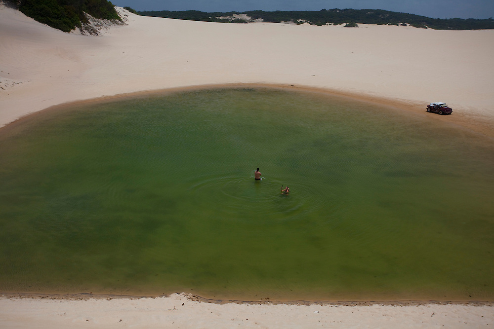 Natal_RN, Brasil...Lagoas em meio as dunas no litoral norte...Lakes between some dunes in the north coast...Foto: LEO DRUMOND / NITRO
