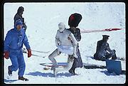 Graham chapman, Eric and Mike Fitzroy, , St. Moritz 1984© Copyright Photograph by Dafydd Jones 66 Stockwell Park Rd. London SW9 0DA Tel 020 7733 0108 www.dafjones.com