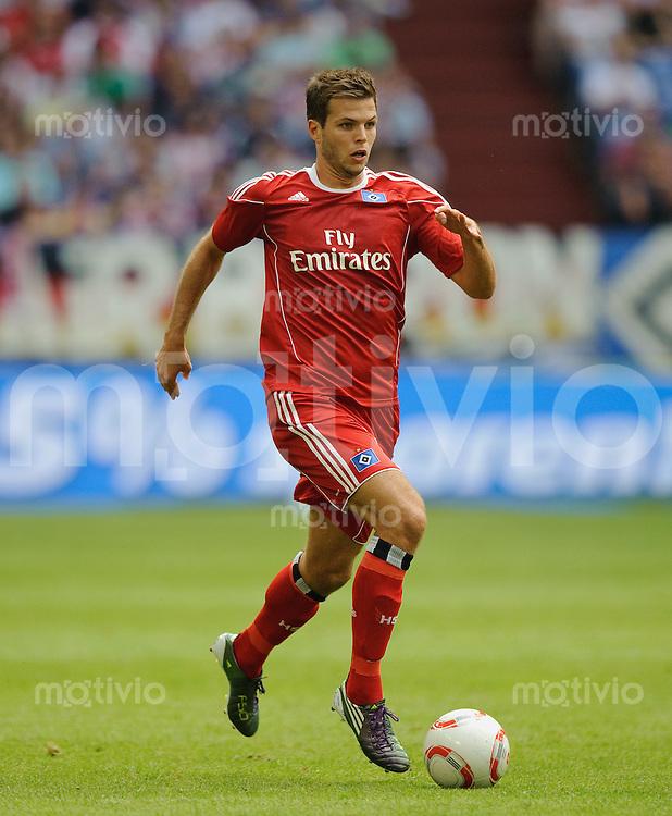 Fussball Liga total Cup 2010 Hamburger SV - 1. FC Koeln Dennis DIEKMEIER (HSV).