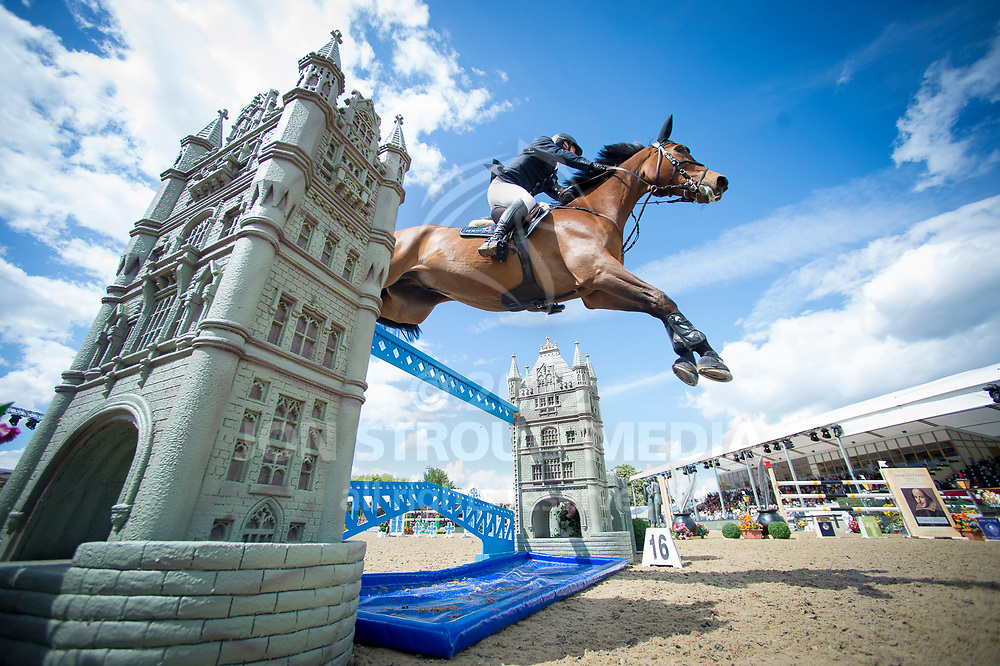 Billy Twomey (IRL) & Diaghilev - Rolex Grand Prix - CSI5* Jumping - Royal Windsor Horse Show - Home Park, Windsor, United Kingdom - 14 May 2017