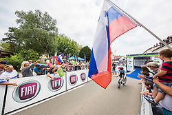 Sondre Holst Enger of Israel Cycling Academy during 5th Time Trial Stage of 25th Tour de Slovenie 2018 cycling race between Trebnje and Novo mesto (25,5 km), on June 17, 2018 in  Slovenia. Photo by Vid Ponikvar / Sportida