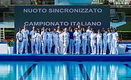 Giudici<br /> Campionato Nazionale Italiano di nuoto sincronizzato Assoluto Estivo 2018<br /> Stadio del Nuoto di Riccione<br /> Roma (RM) 31 Maggio - 3 Gennaio 2018<br /> Photo Pasquale Mesiano/Insidefoto/Deepbluemedia.eu