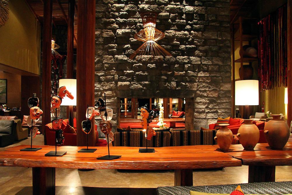 South America, Peru, Urubamba. Tambo del Inka Resort & Spa in the Sacred Valley.