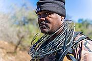 Anti-snare patrol , Somkkhanda Private, Game Reserve, Zululand, KwaZulu Natal, South Africa