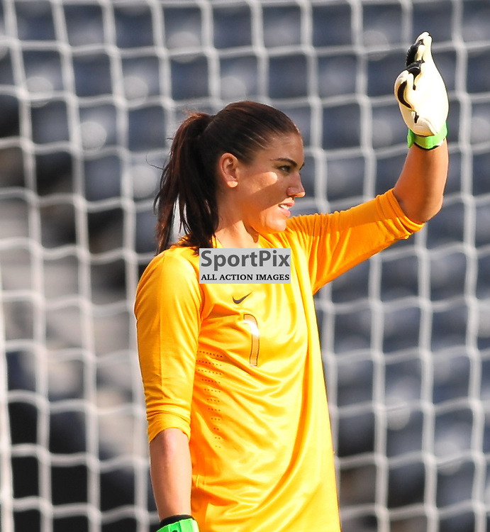 Hope Solo (USA) ..USA v Colombia, Women's Olympic Football, 28th July 2012..(c)  Alex Todd | StockPix.eu