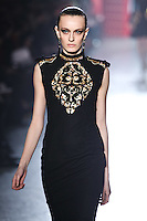 Erjona Ala walks down runway for F2012 Jason Wu's collection in Mercedes Benz fashion week in New York on Feb 10, 2012 NYC