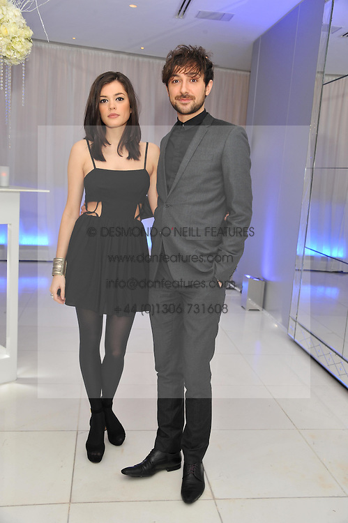 ALEX ZANE and IRAINA MANCINI at the pre party for the English National Ballet's Christmas performance of The Nutcracker held at the St.Martin's Lane Hotel, St.Martin's Lane, London on 14th December 2011.
