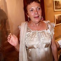 Xalapa, Ver.- La fotografa Graciela Iturbide durante la inauguracion del festival XIII Junio mes de la Foto en Xalapa, Veracruz. Agencia MVT / Carlos Tischler. (DIGITAL)<br /> <br /> NO ARCHIVAR - NO ARCHIVE