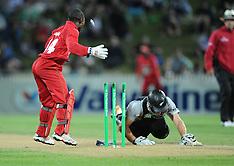 Hamilton-Cricket, New Zealand v Zimbabwe, 3rd twenty20