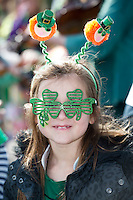 17/03/12016 Robyn Corcoran Kinvara at the the St. Patrick's Day Parade in Kinvara Co. Galway. Photo:Andrew Downes, xposure.