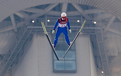 14.02.2018, Alpensia Ski Jumping Centre, Pyeongchang, KOR, PyeongChang 2018, Norische Kombination, Skisprung, im Bild Tim Hug (SUI) // Tim Hug of Switzerland during Nordic Combined, Skijumping of the Pyeongchang 2018 Winter Olympic Games at the Alpensia Ski Jumping Centre in Pyeongchang, South Korea on 2018/02/14. EXPA Pictures © 2018, PhotoCredit: EXPA/ Johann Groder