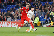 Wales defender Joe Rodon during the UEFA European 2020 Qualifier match between Wales and Azerbaijan at the Cardiff City Stadium, Cardiff, Wales on 6 September 2019.