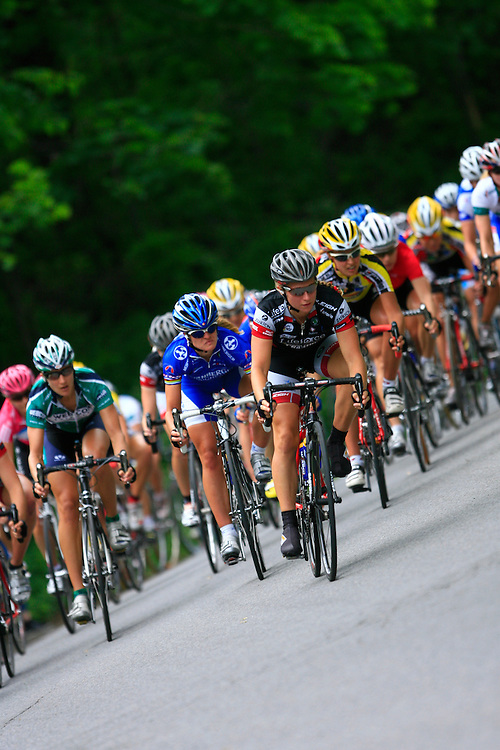 """UCI world cup women cycling held in Montreal in june 2007 during the """"Tour du grand Montreal"""" event."""