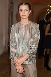 TALI LENNOX at a gala dinner to celebrate 15 Years of mothers2mothers hosted by Annie Lennox held at One Marylebone, 1 Marylebone Road, London NW1on 3rd November 2015.