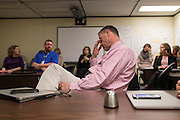 Glen Van Derwater, Executive Director for Instructional Technology at Rochester City School District in Rochester, New York on Monday, February 22, 2016. The district is in the early stages of a planned 1:1 device to student program.