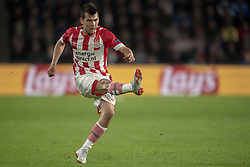 October 4, 2018 - Eindhoven, Netherlands - Hirving Lozano of PSV in action during the UEFA Champions League Group B match between PSV Eindhoven and FC Internazionale Milano at Philips Stadium in Eindhoven, Holland on October 3, 2018  (Credit Image: © Andrew Surma/NurPhoto/ZUMA Press)