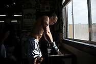 June 8, 2017 / Hollywood, Calif.<br /> <br /> Aaron Pico, 20, takes a 30 second breather, while training at the legendary Wild Card Boxing Club in Hollywood. (Melissa Lyttle for ESPN)
