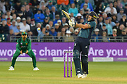 Ben Stokes of England batting during the third Royal London One Day International match between England and Pakistan at the Bristol County Ground, Bristol, United Kingdom on 14 May 2019.