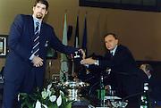 Incontro con D'Alema 1999<br /> giovanni petrucci, roberto chiacig