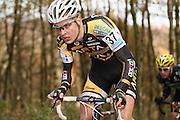 NETHERLANDS / NEDERLAND / PAYS BAS / GIETEN / CYCLING / WIELRENNEN / CYCLISME / CYCLOCROSS / VELDRIJDEN /  HANSGROHE SUPERPRESTIGE VELDRIJDEN / JUNIORS / BRAM WELTEN (NED) /
