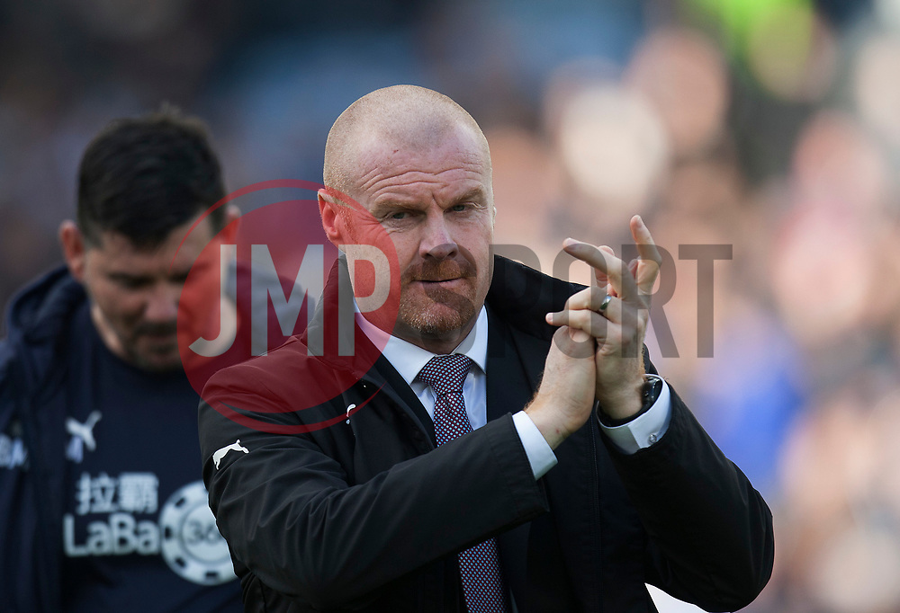 Burnley manager Sean Dyche - Mandatory by-line: Jack Phillips/JMP - 28/10/2018 - FOOTBALL - Turf Moor - Burnley, England - Burnley v Chelsea - English Premier League