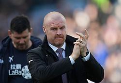 Burnley manager Sean Dyche - Mandatory by-line: Jack Phillips/JMP - 28/10/2018 - FOOTBALL - Turf Moor - Burnley, England - Burnley v Chelsea - English Premier League