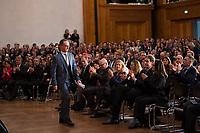 DEU, Deutschland, Germany, Berlin, 14.03.2018: Bundesaussenminister Heiko Maas (SPD) nach seiner Rede bei der Amtsübergabe im Weltsaaal des Auswärtigen Amts.