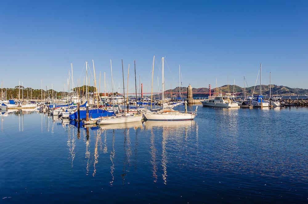 Marina District, San Francisco, California, Marina, boats