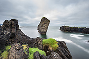Sjalfberg rock Image from westfjords in Iceland