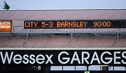 - Photo mandatory by-line: Joe Meredith/JMP - Tel: Mobile: 07966 386802 23/02/2013 - SPORT - FOOTBALL - Ashton Gate - Bristol -  Bristol City V Barnsley - Npower Championship