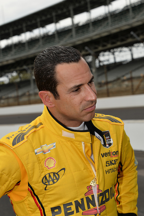 Helio Castroneves, Indianapolis 500, Indianapolis Motor Speedway, Indianapolis, IN USA 5/25/2014