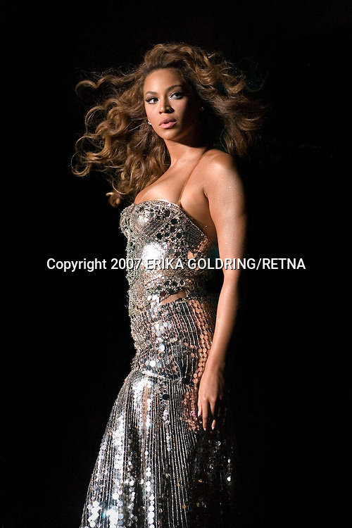 Beyonce performs at Essence Music Festival in New Orleans, LA. July 6, 2007 © Erika Goldring/Retna Ltd.