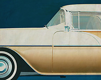 The 1956 Pontiac Safari Station Wagon was built by Pontiac based on their Pontiac Chieftain model.<br />